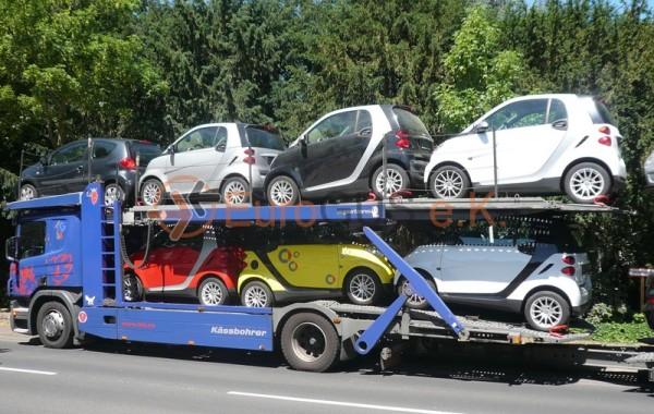 Open car transporter