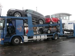 Fahrzeugüberführung nach Russland. .
