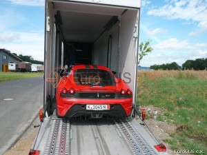 Fahrzeugüberführung, Autotransport, Luxusauto