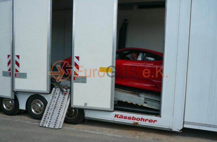 Closed car transports