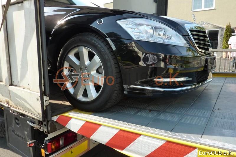 Fahrzeugüberführung, Autotransport, SPedition Russland, Luxusauto, gepanzertes Fahrzeug