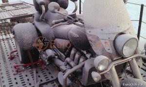 Motorrad, Überführung, Spedition Russland