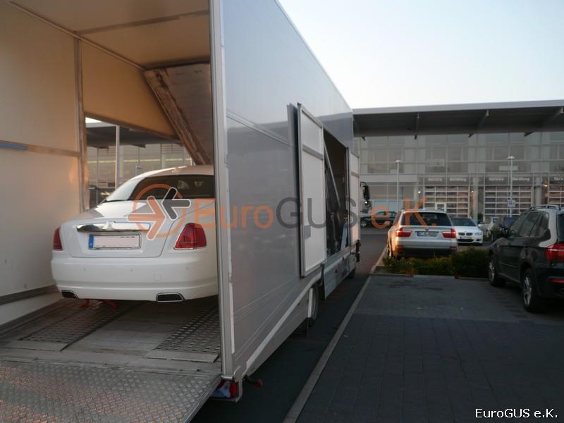 Fahrzeugüberführung, Autotransport, Spedition Russland