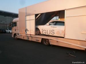 Fahrzeugüberführung, Luxusauto, Deutschland