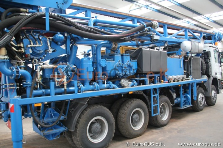 Vertical Drilling Rig  multimodal transport