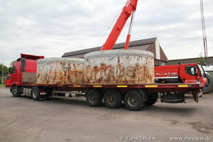Windkraft Schwertransport Russland Kasachstan