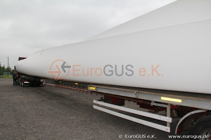 Windkraft LKW Sondertransport Russland Kasachstan