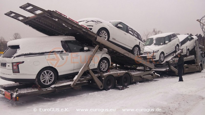 Heavy Projects Car Logistics Good Transport Eurogus
