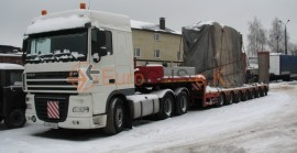 Transformer – special transport to Kazakhstan